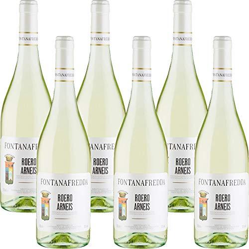 Roero Arneis DOCG | Fontanafredda | Vino Bianco del Piemonte | 6 Bottiglie 75cl | Idea Regalo