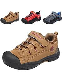 Gloria JR - Zapatillas de senderismo de Piel para niño