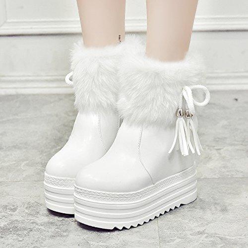 HGTYU-Un pendio con scarponi la risalita di Snow Boots e spessi e scarpe di cotone Calzature Donna35 36