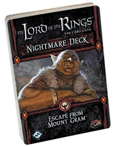 Preisvergleich Produktbild The Lord of the Rings LCG: Escape from Mount Gram Nightmare Deck - English
