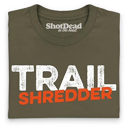 Trail Shredder 2 T-Shirt, Herren Olivgrn