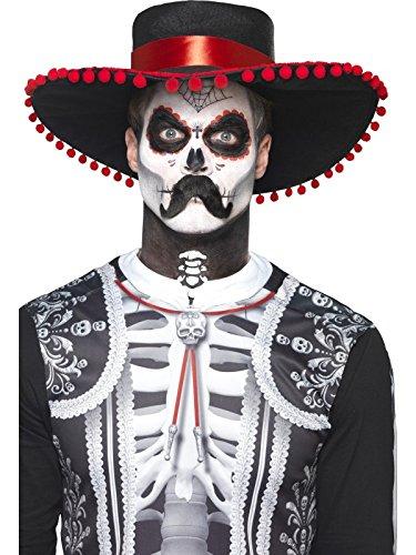 Smiffys Kit de Maquillaje para Esqueleto de Novio del día de Muertos caaf5e64557
