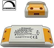 Transformador LED, 1?70W, 12V ~ CA (pequeño y compacta)?Transformador?Transformador de alto rendimiento para G4, GU5.3, MR16, MR11Spots y más