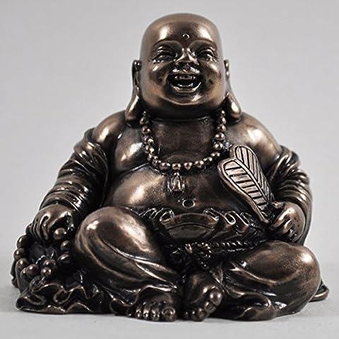 Seduta Laughing Buddha Scultura Spirituale Regalo Piccolo Home Decor Staute Ornament H6.5cm - Laughing Buddha