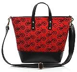 #9: Mammon Women's Handbag (cycle,small size :Height 35 Cm)