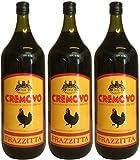 Marsala Cremovo FRAZZITTA (3 X 2 L) - Vino Aromatizzato all´Uovo - Aromatisierter Wein mit Ei 14,8 % Vol. aus Italien