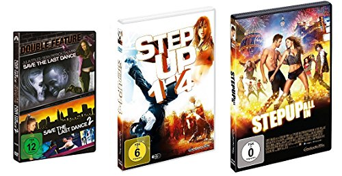 7 Tanzfilme im Set (Save The Last Dance 1&2 Box + Step Up 1-4 Box + Step Up 5) - Deutsche Originalware [7 DVDs]