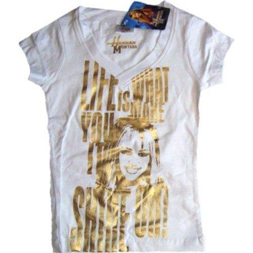 hannah-montana-shirt-mit-goldschrift-weiss-gr-12-jahre