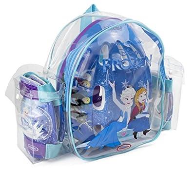 Disney Frozen - Bolsa con casco, rodilla y codo pads (D'Arpèje OFRO004) para niña por D'Arpèje