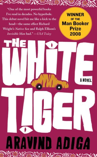 The White Tiger por Aravind Adiga