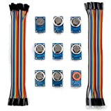 For arduino Kuman K24 sensor module kits MQ2 MQ3 MQ4 MQ5 MQ6 MQ7 MQ8 MQ9 MQ135 kit Diy for Arduino with jumper wires cables