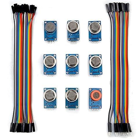 Kuman K24 sensor kits for Arduino MQ2 MQ3 MQ4 MQ5