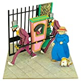 Studio Ghibli mini Howl's Moving Castle wasteland of witch palanquin MP07-34 non-scale paper craft