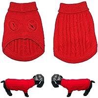 CDKJ Ropa Perro Chihuahua Disfraz Gato Suéter para de Animales de compagnie-m