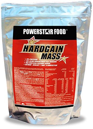 WEIGHT GAINER für HARDGAINER & MASSEPHASE – 406 kcal pro Kalorienshake – für mehr Masse, Kraft & schnelleren Muskelaufbau – 1600 g Zip-Beutel – Made in Germany (Banane, 1600 g Beutel)