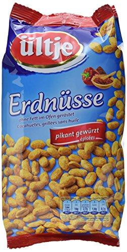 Preisvergleich Produktbild ültje Erdnüsse,  pikant gewürzt,  ohne Fett geröstet,  5er Pack (5 x 1 kg)