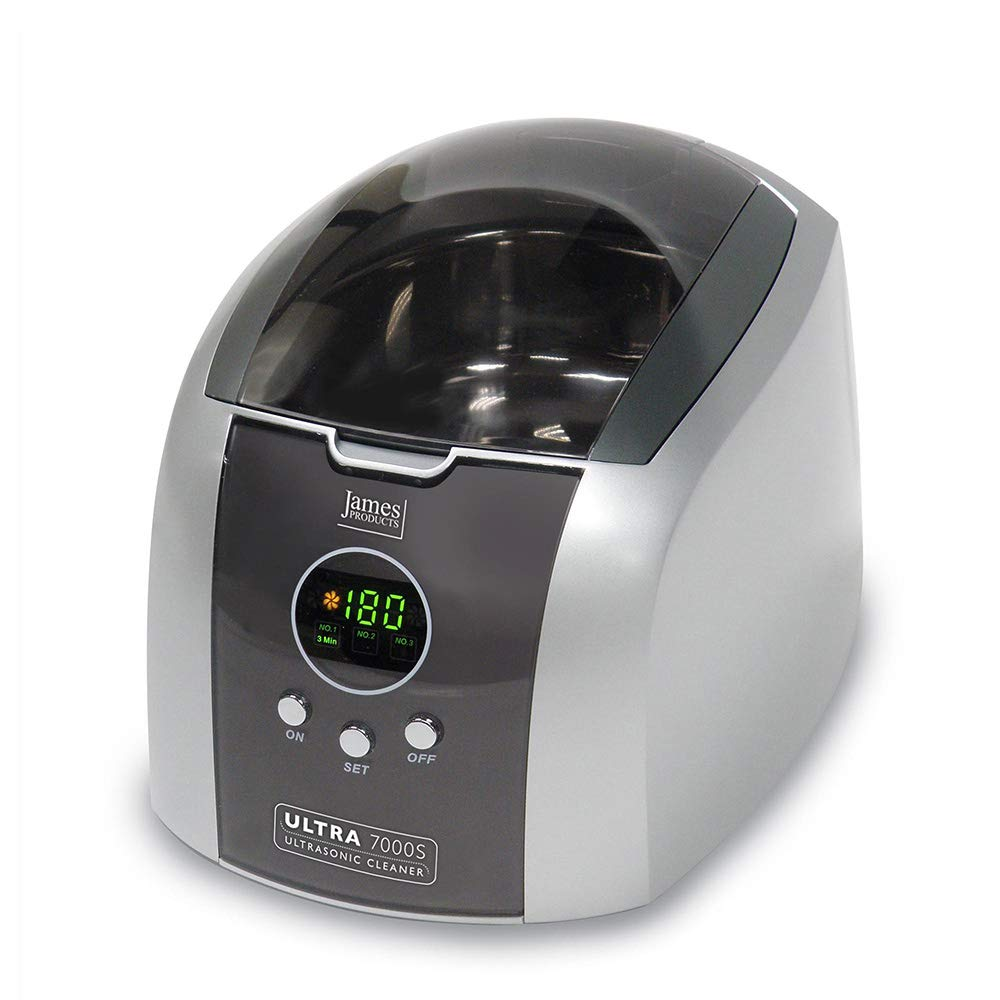 James Products Ultrasonic 7000 Jewellery, Spectacle, CD/DVD, Coins, Personal Care Cleaner