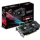 Asus ROG Strix-RX460-O4G-Gaming AMD Radeon Grafikkarte (4GB DDR5 Speicher, PCIe 3.0, HDMI, DVI, DisplayPort)