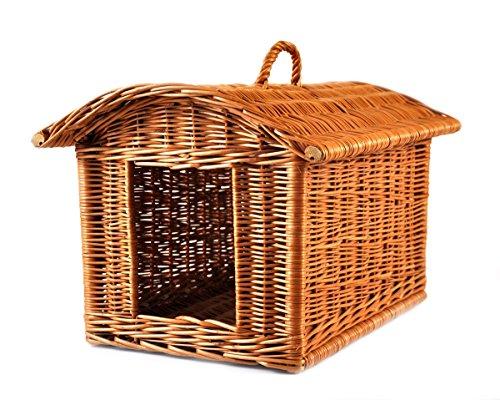 PM24 K5-584 Cat Transport Box Cat Basket Basket Basket Wicker Wicker
