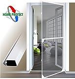 Insektenschutztür Alu Rahmen System für Türen 100x215cm weiß