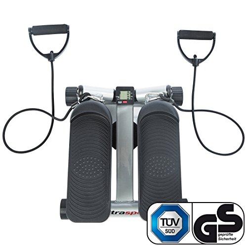 Ultrasport Swing Stepper, Twister, Ministepper inkl. Trainingsbändern - 2