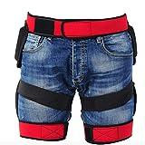Oyamihin Fishing Pants Outdoor Sports Buttocks Anti Dropping Protecting Breech Pants - Black Bild 5