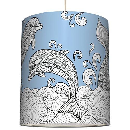 anna-wand-lampenschirm-delfine-wal-blau-schirm-fur-lampe-zum-ausmalen-mit-delfin-und-wal-motiven-san