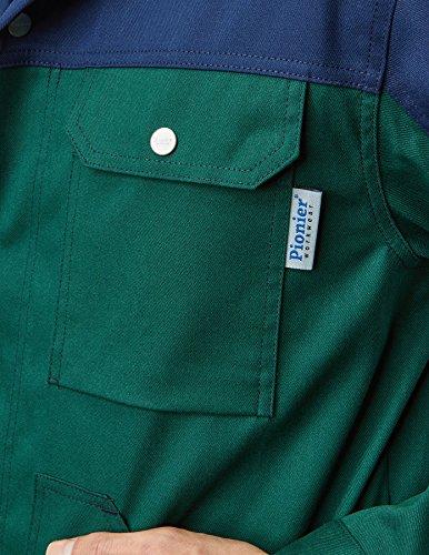 PIONIER WORKWEAR Herren Bundjacke Top Comfort Stretch in beigeblau (Art.-Nr. 2412) Grün/Marine