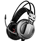 Casque Gaming avec Micro,XIBERIA V10 PS4 3.5mm à son surround over-ear avec un...