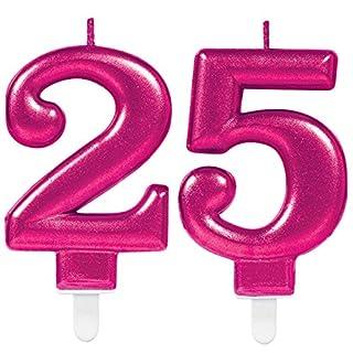 25 Geburtstag Deko Pink Heimwerker Markt De