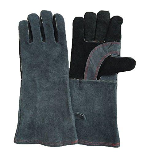 - Spaltleder-arbeits-handschuhe (1 Paar Arbeitshandschuhe Sicherheitshandschuhe Schweißschutzhandschuhe Aus Leder Schnittfeste Küchen Handschuhe Hitzeschutz Handschuh Rutschfeste für Zuhause und Arbeit)