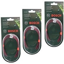 Genuino Bosch ARTE 26 COMBITRIM Desbrozadora Desbrozadora Cesped Linea De Carrete (Pack de 30, 26cm, F016800181)