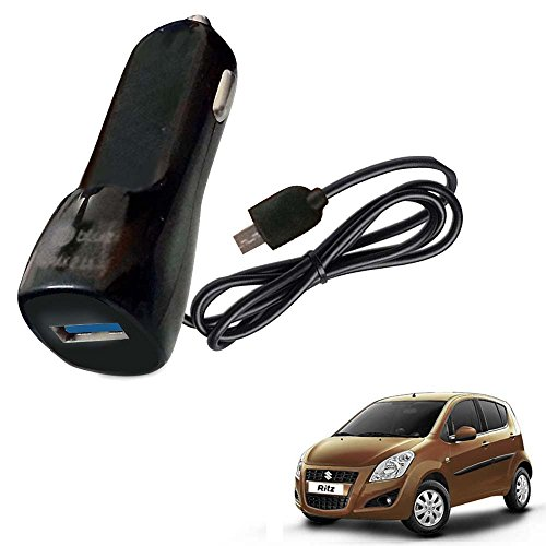 Vheelocityin Bluei 6 Month Warranty Car USB Charger Fast Charging USB Charger For Maruti Suzuki Ritz