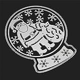 Fustelle per scrapbooking, Kfnire modello di natale DIY taglio stampi metallo goffratura stencil per l'album scrapbooking carta che fa art craft (A)