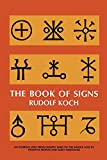 Best Dover Publications Dictionaries - The Book of Signs (Dover Pictorial Archive) Review