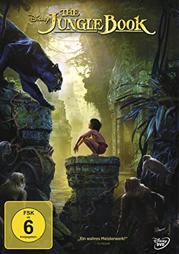 The Jungle Book (Scarlett-der Film Dvd)