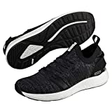 Puma Nrgy Neko Engineer Knit, Scarpe Running Uomo, Nero Black-Iron Gate, 41 EU