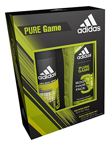Adidas Pure Game Body Spray und Dusche Gel Duo -