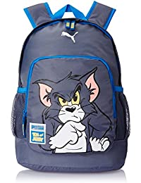 PUMA Rucksack Tom & Jerry Backpack - Mochila infantil, color gris (folkstone gray), talla 30 x 44 x 22 x 22 , 29.0 l