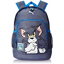 PUMA Rucksack Tom & Jerry Backpack - Mochila infantil, color gris (folkstone gray), talla 30 x 44 x 22 x 22 , 29.0 l