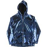Electric Styles - Blinkender Electro Hoodie Hoodie (blau, S)