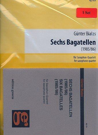 Sechs Bagatellen für Saxophon-Quartett