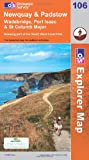 Newquay and Padstow (OS Explorer Map)