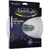 Nite Ize Lanzamiento Disco Flash Flight LED Golf Disc–Mid-Range, ni de fgdm de 07de R8