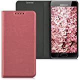kwmobile Flip cover pour Samsung Galaxy A3 (2016) en rose ancien avec revêtement en cuir synthétique et ouverture