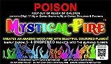 MYSTICAL FIRE 99.828 Fiamma colorante 25-Pouch Box, multicolore