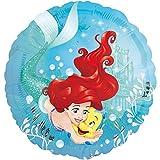 Ariel die Meerjungfrau Folienballon Ø 45cm + PORTOFREI mgl + Geschenkkarte + Helium & Ballongas geeignet. High Quality Premium Ballons vom Luftballonprofi & deutschen Heliumballon Experten. Tolles Luftballon Geschenk für Kinder & Erwachsene und tolle Ballondekoration