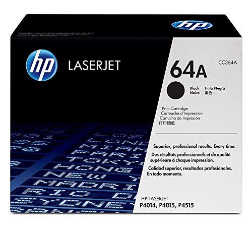 HP CC364A - Tóner, color negro