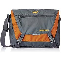 Wildcraft Nylon 15 Ltrs Orange Messenger Bag (8903338055990)