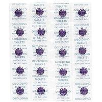 Plaqsearch Tabletas Reveladoras Placa ~ Paquete de 40 ~ Masticable Dientes Niños